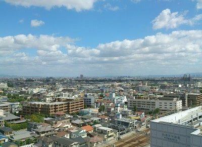 ノボテル甲子園からの眺め