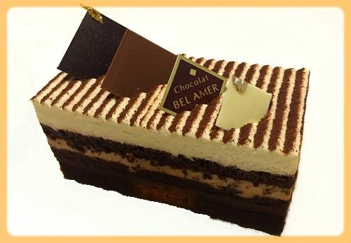 3種のショコラケーキ