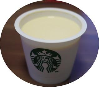 スタバのミルクカスタードプリン